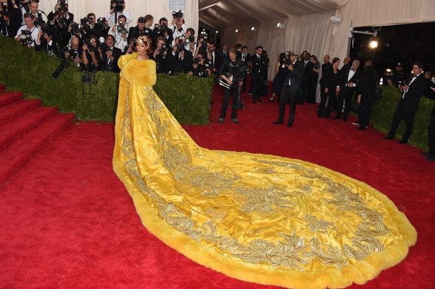 Rihanna's look at last year's event was certainly