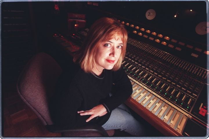 Producer Sylvia Massy in the studio at Sound City in Van Nuys, March 1997.