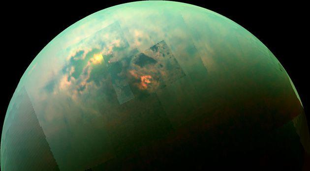Titan Has A Sea Of Pure