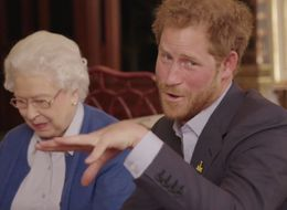 The Queen And Prince Harry Are Actually Trash Talking The Obamas