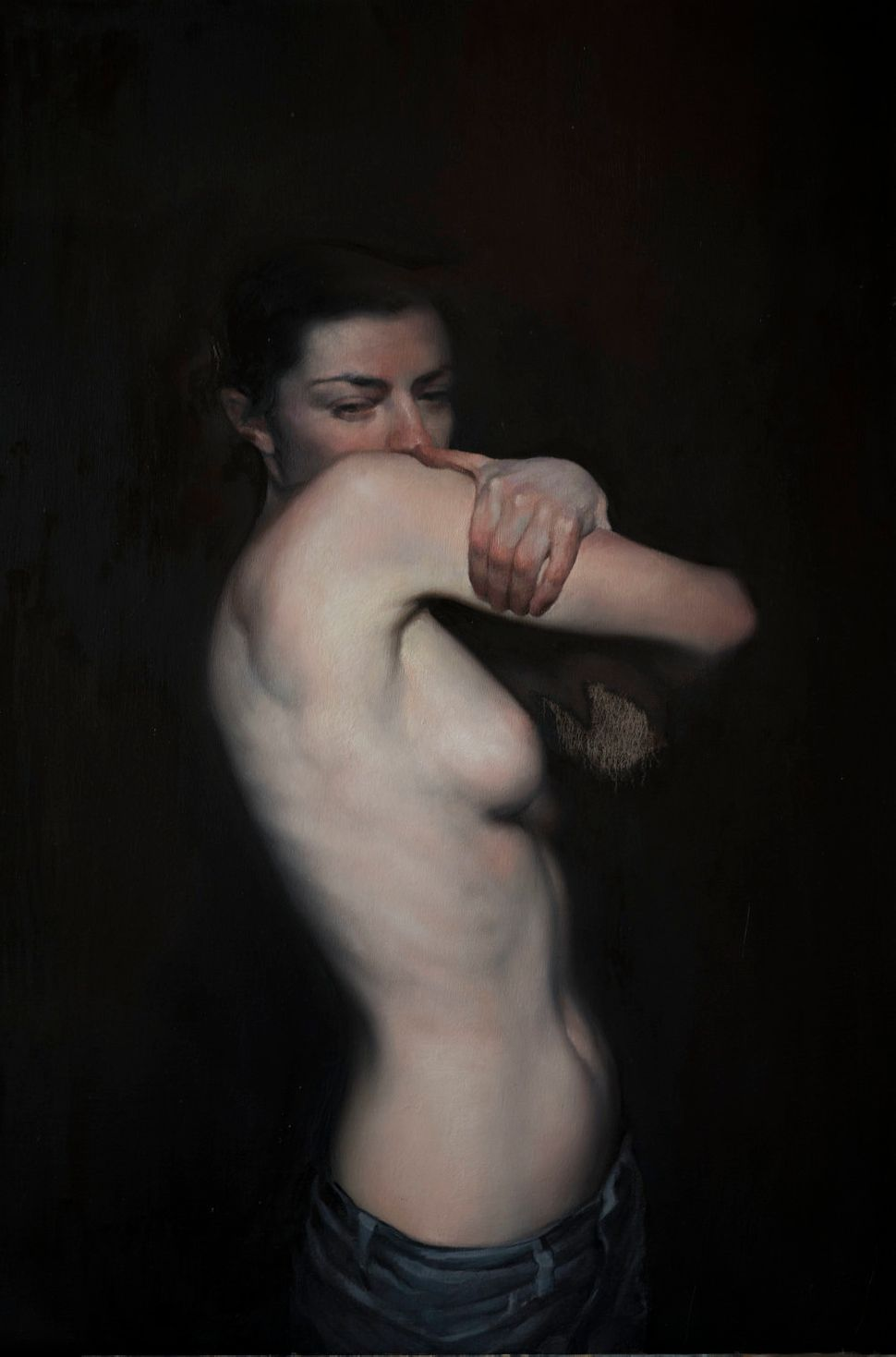 "Featured in ""In The Raw: The Female Gaze on The Nude"" Exhibit, Untitled Space Gallery, New York"