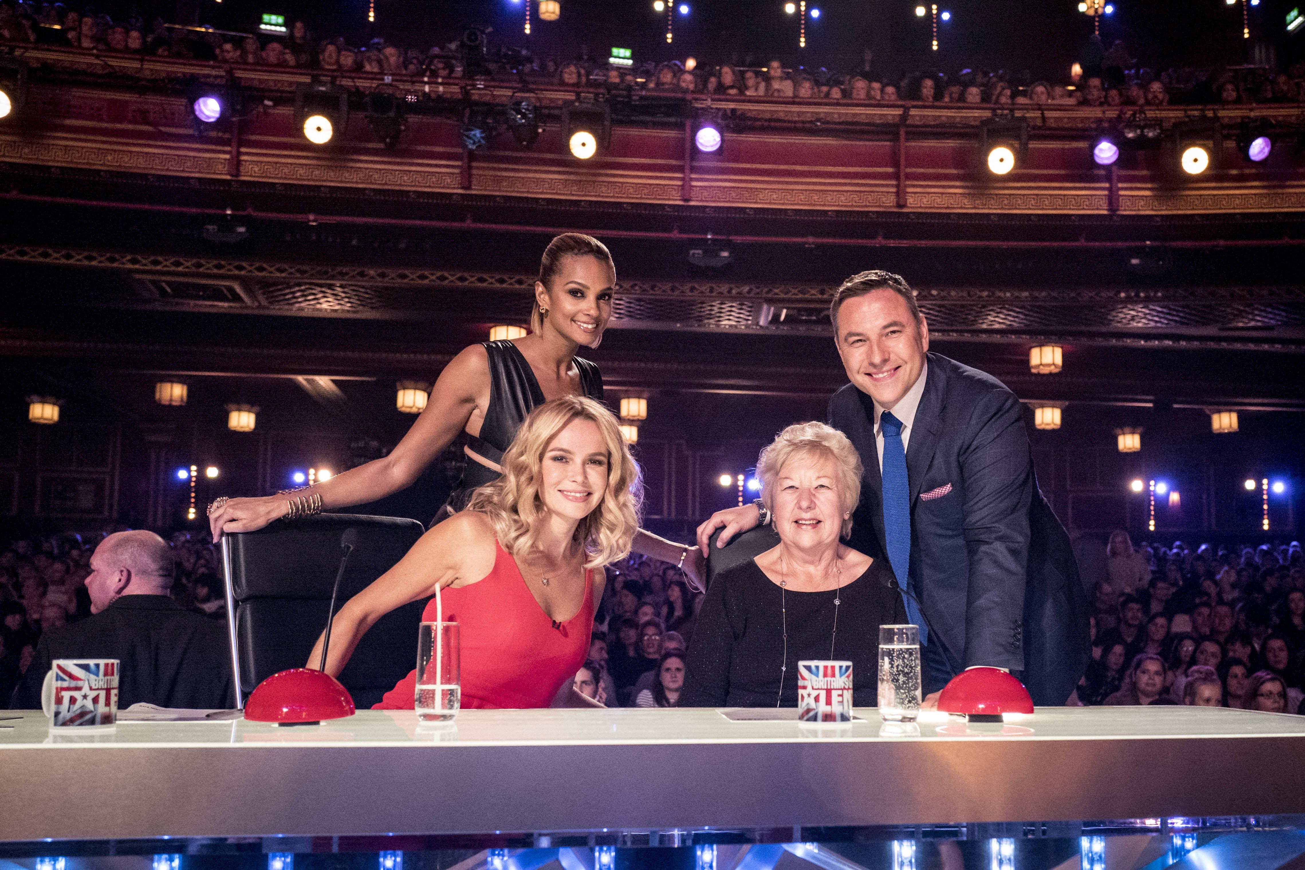 David Walliams' mum Kathleen joins the 'Britain's Got Talent'
