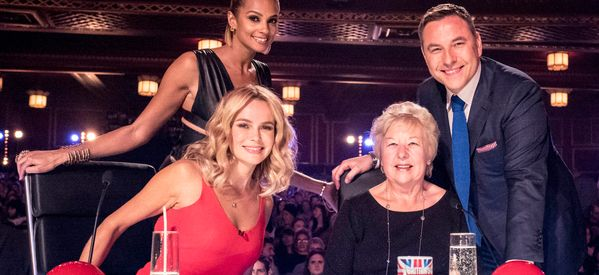 David's Mum Causes A Stir As She Sits In For BGT's Simon