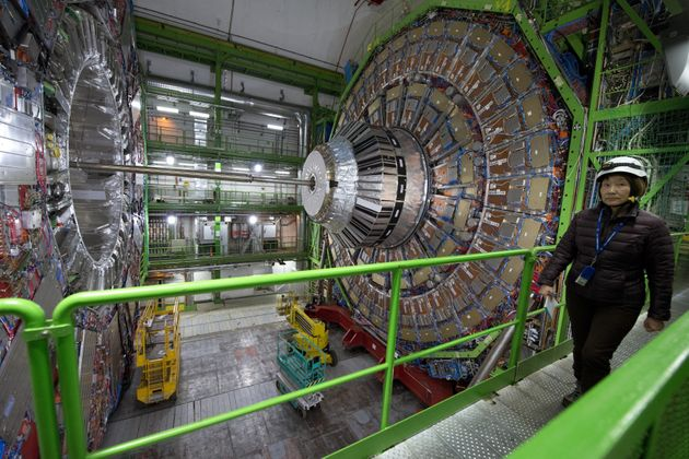 The collider at CERN is the biggest machine in the