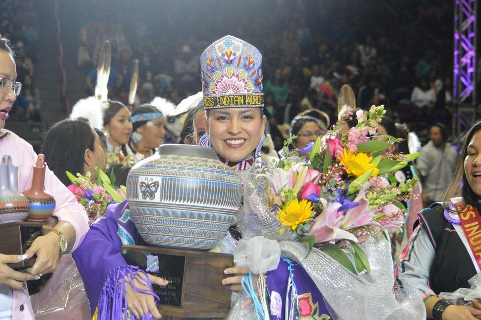 Cheyenne Brady named 2015 Miss Indian World.