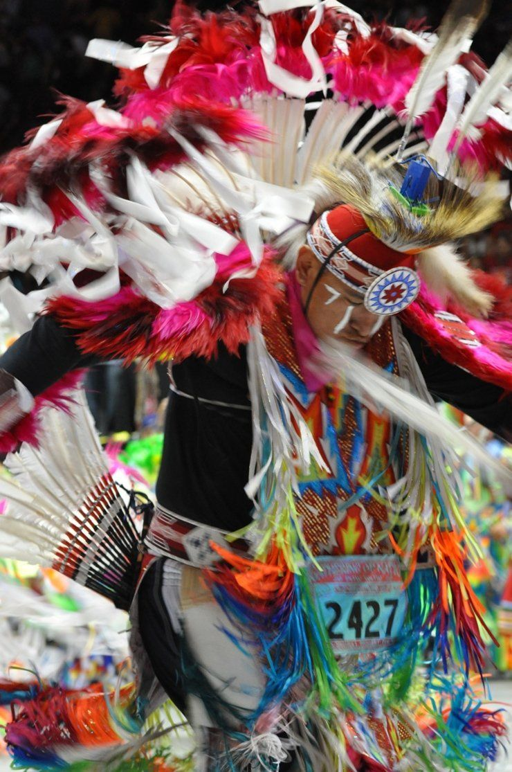 Competitive tribal dancing.