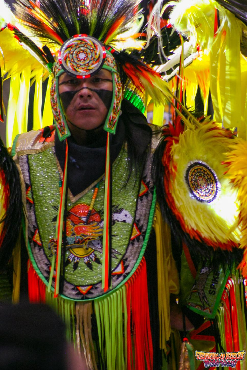 Spike Draper posthumously honored as the Head Man Dancer at 2016 Gathering of Nations.