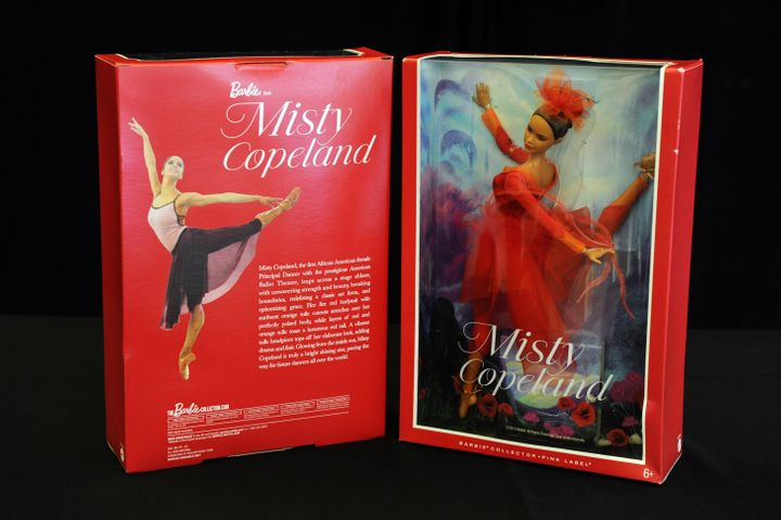 The Misty Copeland Barbie doll can actually move ... a whole lot!