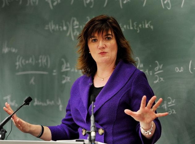 Nicky Morgan was not impressed with one headteacher's question at the NAHT