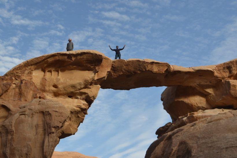 Nicole at Wadi Rum in Jordan.