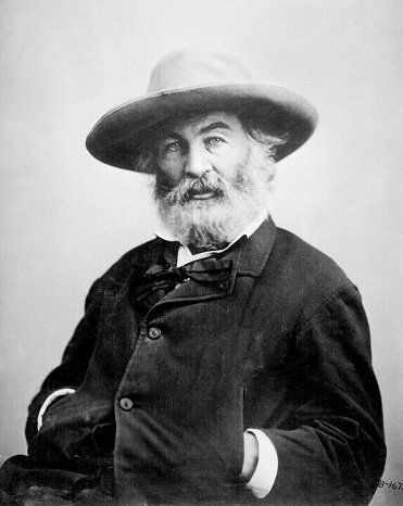 American poet Walt Whitman lived from 1819 to 1892.