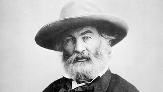 American poet and writer Walt Whitman was born on May 31, 1819 - died 1892. Deeply touched by a visit to a wartime hospital, Whitman spent much of the Civil War as a hospital volunteer, carefully documenting his experiences caring for the wounded.