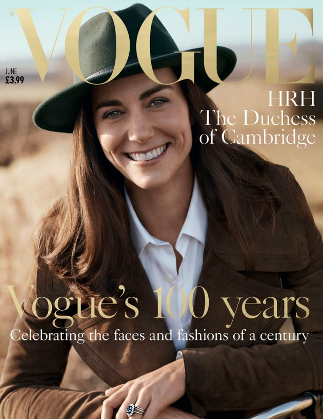 Kate on the cover of Vogue