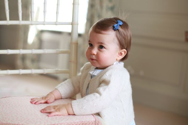 The photographs were taken at the family's home on Queen's Elizabeth II's Sandringham Estate in