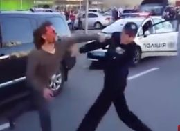 Former Olympic Wresting Champion Fights Off Seven Police Officers