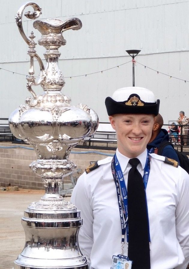 Zoe Williams, a former Sub-Lieutenant in the Royal Navy, will compete in swimming and indoor rowing at...