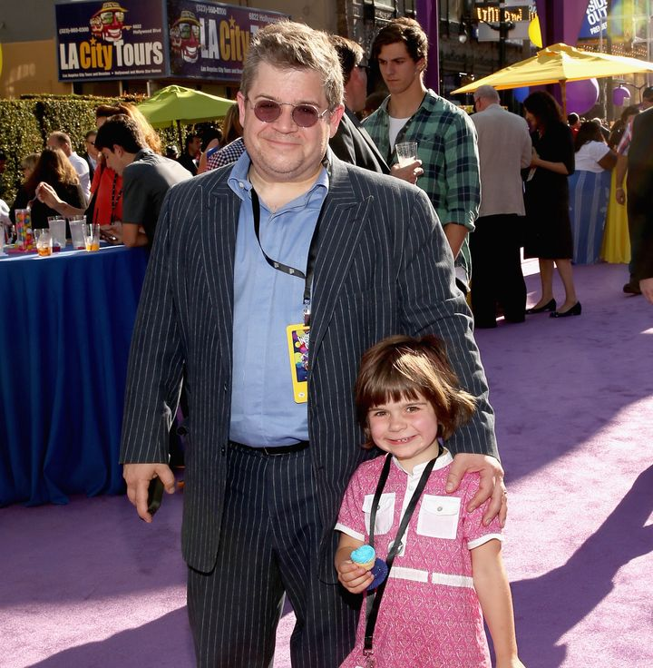 Comedian and actor Patton Oswalt shared a touching quote from his daughter, Alice, about her late mother.
