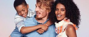 OLD NAVY INTERRACIAL COUPLE