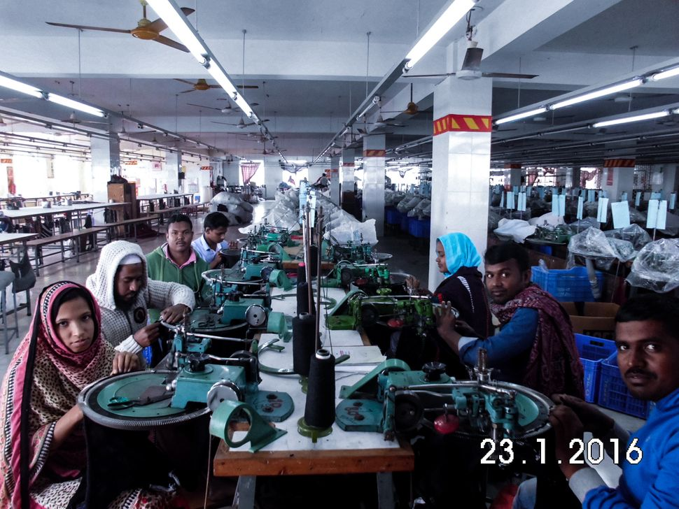 Most garment factory workers in Bangladesh are women. Male employees tend to work in quality assurance, a more seni