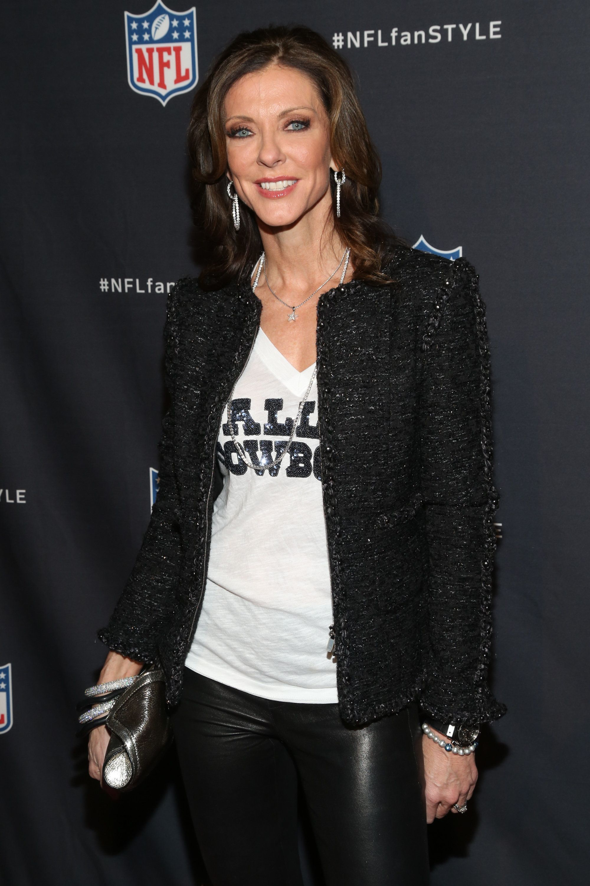 NEW YORK, NY - SEPTEMBER 16:  Dallas Cowboys Executive Vice President and Chief Brand Officer Charlotte Jones Anderson attends NFL Inaugural Hall of Fashion launch event at Pillars 37 on September 16, 2014 in New York City.  (Photo by J Carter Rinaldi/FilmMagic)