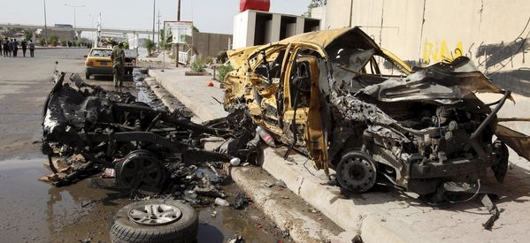 Bombs In Baghdad Kill 14, Including Some Shi'ite Pilgrims