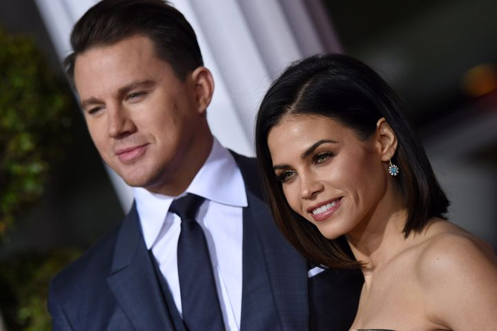 Actors Channing Tatum and Jenna Dewan-Tatum.