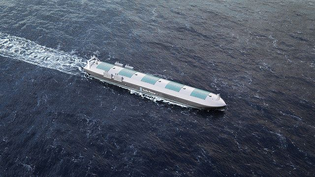 Rolls Royce is working with Finnish researchers to develop remote-controlled cargo ships.