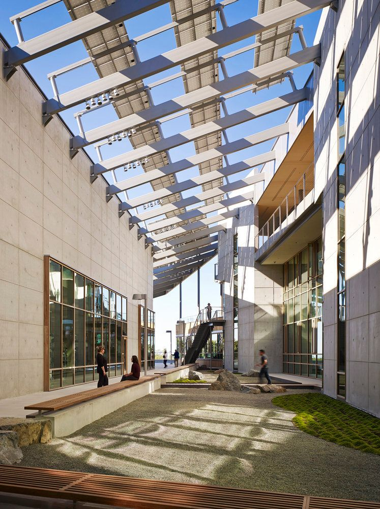 These projects are protecting and enhancing the environment through  integrated approaches to architecture and technology.