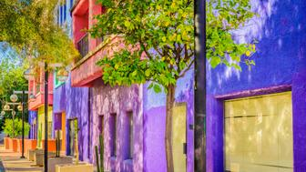 The La Placita is a multi-building complex located in downtown Tucson, Arizona. It serves many purposes such as housing and even retail.