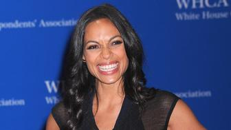 WASHINGTON, DC - APRIL 30: Actress Rosario Dawson attends the 102nd White House Correspondents' Association Dinner  on April 30, 2016 in Washington, DC.  (Photo by Kris Connor/FilmMagic)