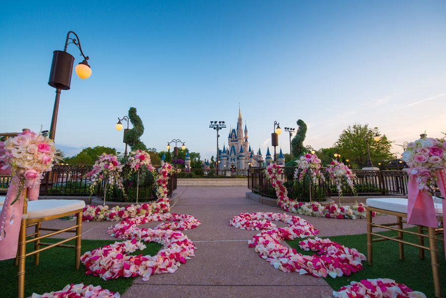Couples can now get married at Walt Disney World's East Plaza Garden.
