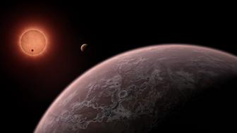 There's the potential for life on three, temperate planets that astronomers discovered recently.