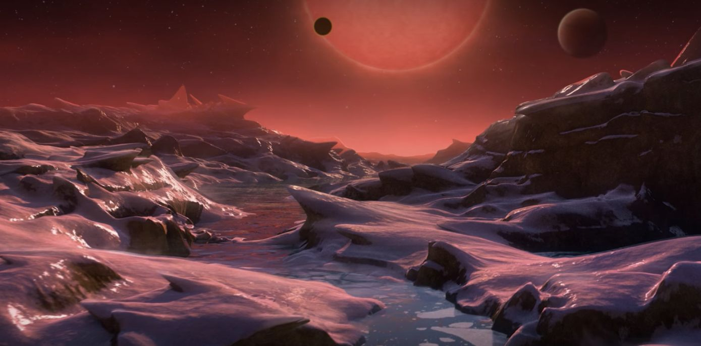 The atmosphere of three newly discovered planets could allow water to exist and with it, life.