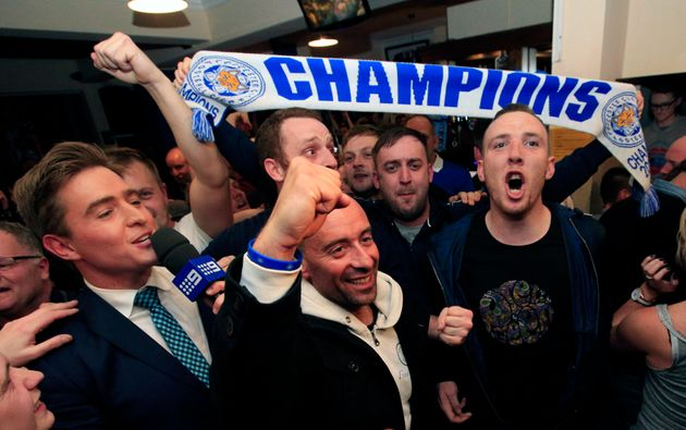 Leicester City Win The Premiership, Team Go Absolutely