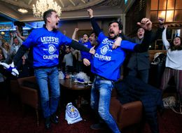 Watch The Leicester City Team Celebrate The Moment They Became Premiership Champions