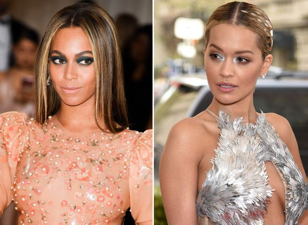 Rita was the subject of speculation she's had an affair with Beyoncé's