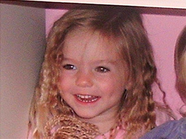 Madeleine McCann was nearly four when she went
