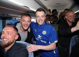 Leicester Let A Jamie Vardy Lookalike Onto Their Team Bus And Now They're Buying Him Lunch