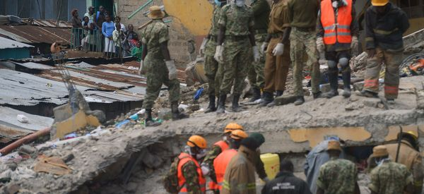 Baby Girl Rescued 3 Days After Kenya Building Collapse