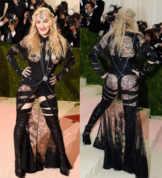 Madonna dress at the Met Gala 2016