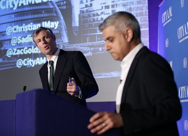 Goldsmith, left, and Khan, right, make specific pledges around education, housing and