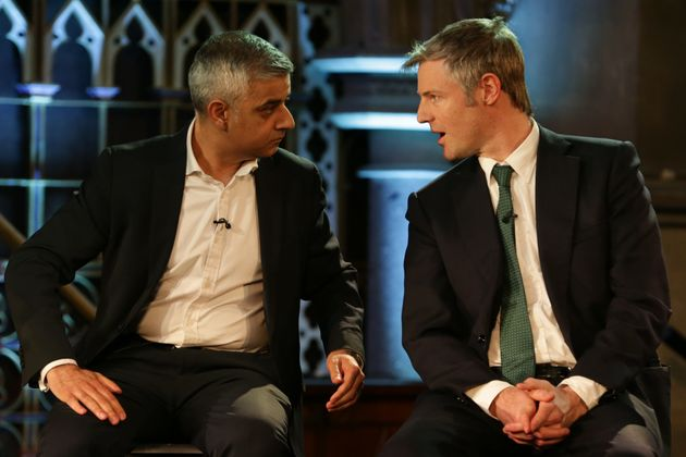 Labour's Sadiq Khan and Conservative's Zac Goldsmith are the leading mayoral