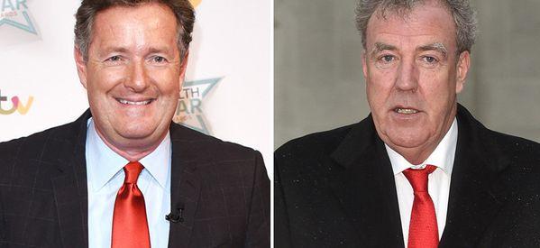 Piers Morgan Reignites Jeremy Clarkson Feud