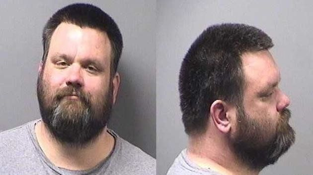Michael Merichko, 39, was arrested by police in Bradley, Illinois on Monday for disorderly conduct at a Target store.