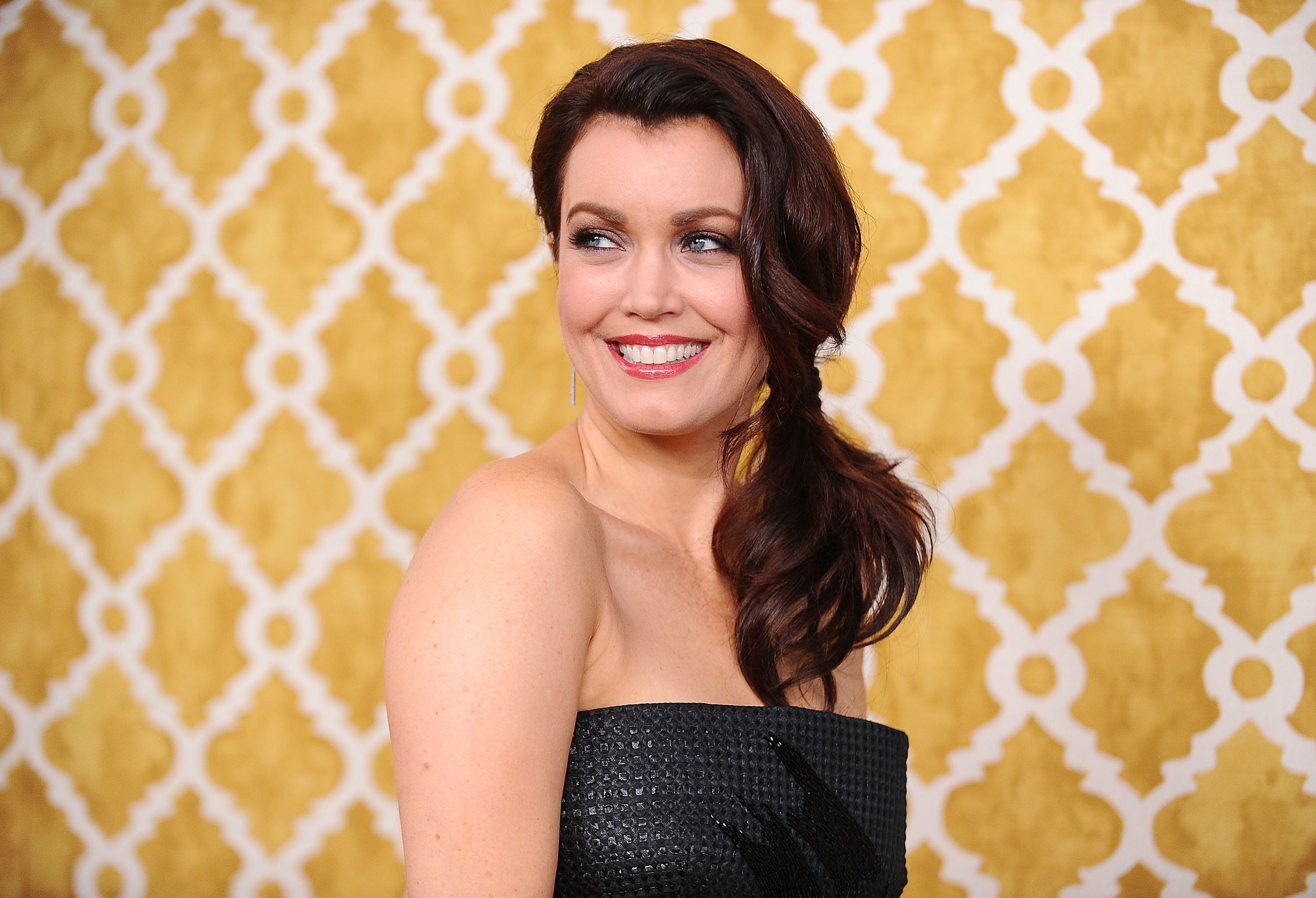 HOLLYWOOD, CALIFORNIA - MARCH 31:  Actress Bellamy Young attends the premiere of 'Confirmation' at Paramount Theater on the Paramount Studios lot on March 31, 2016 in Hollywood, California.  (Photo by Jason LaVeris/FilmMagic)