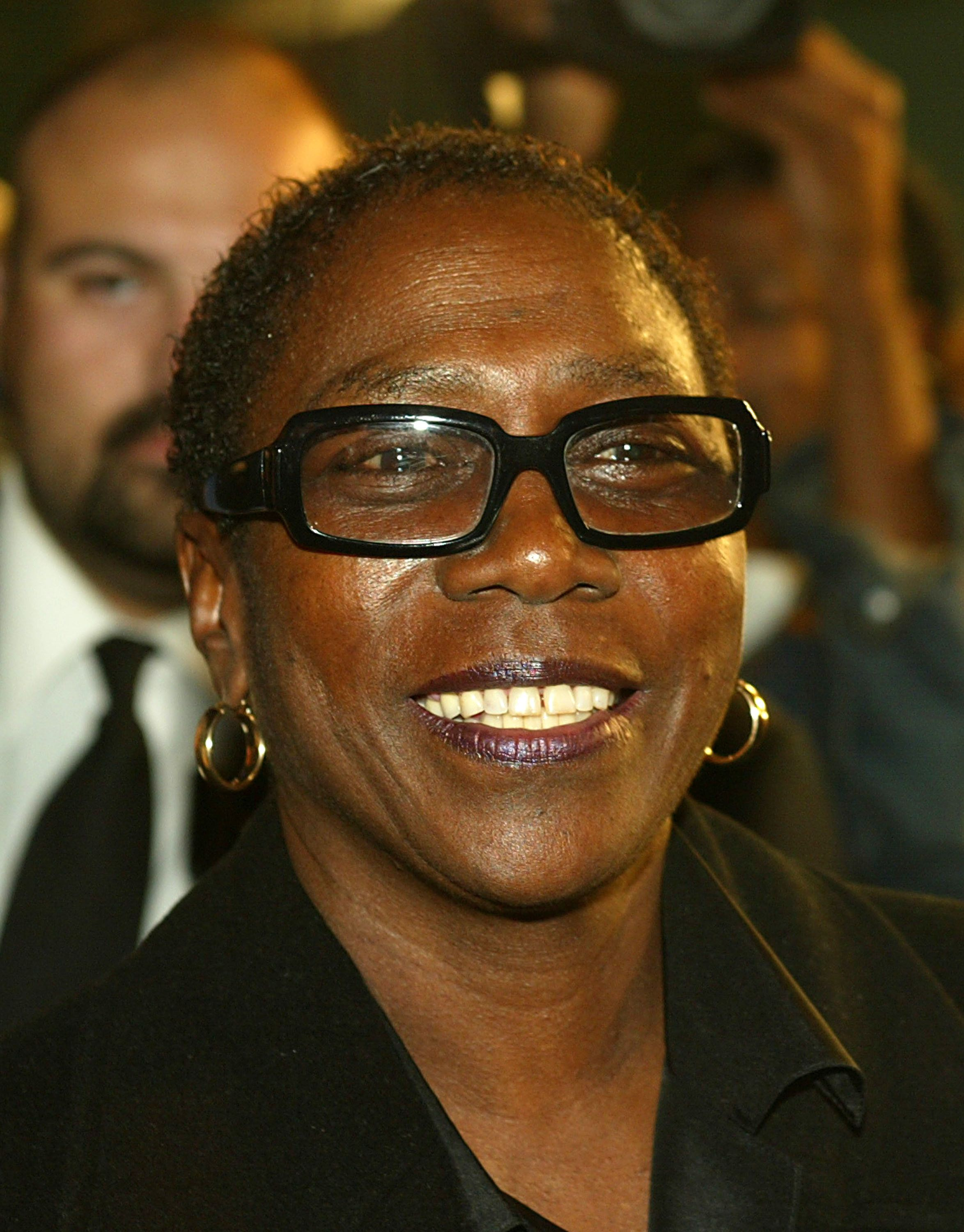HOLLYWOOD - NOVEMBER 4:  Producer Afeni Shakur attends the film premiere of 'Tupac Resurrection' at the Cinerama Dome Theater on November 4, 2003 in  Hollywood, California.  (Photo by Kevin Winter/Getty Images)