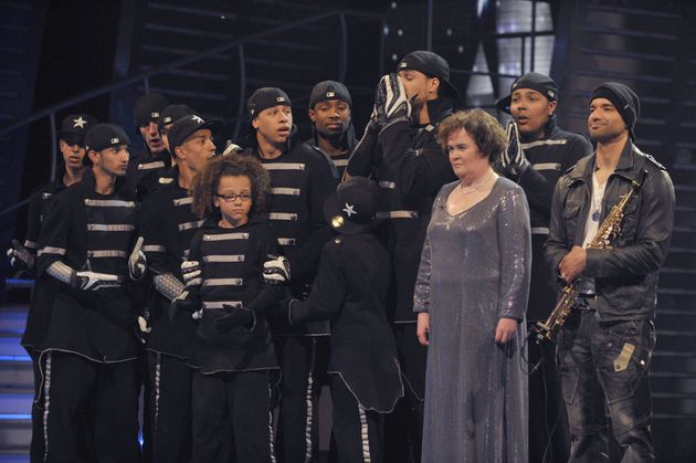 2009 finalists Diversity, Susan Boyle and Julian