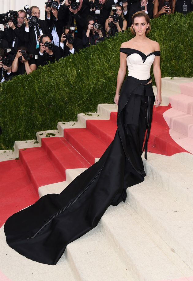 Emma Watson's Met Gala Dress Was Made Of Recycled Plastic Bottles Because She's