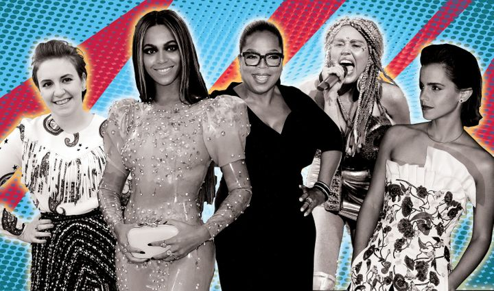 """""""It has been and can be a vastly different perception when a white celebrity flies the feminist flag and when a celebrity who's non-white flies that flag."""""""