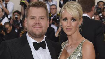 NEW YORK, NY - MAY 02:  James Corden and Julia Carey attend the 'Manus x Machina: Fashion In An Age Of Technology' Costume Institute Gala at Metropolitan Museum of Art on May 2, 2016 in New York City.  (Photo by Dimitrios Kambouris/Getty Images)